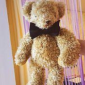 """Медведь """"Джентльмен"""" большой винтажный"""