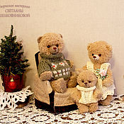 Куклы и игрушки handmade. Livemaster - original item Teddy bears Happy family. Handmade.