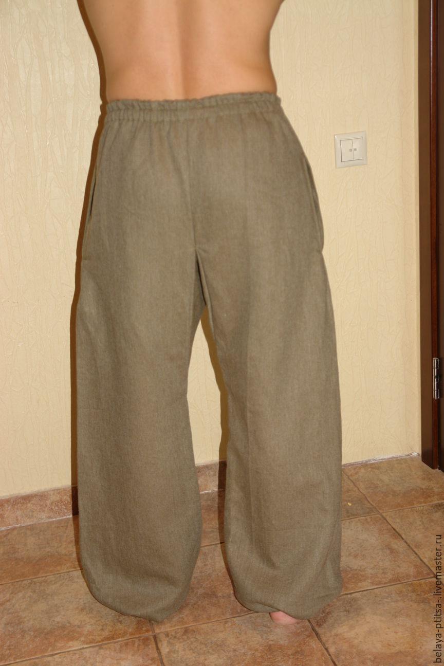 Как сшить брюки лен 291
