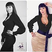 Блузки ручной работы. Ярмарка Мастеров - ручная работа Рубашка женская сексуальная в мужском стиле в разных цветах. Handmade.