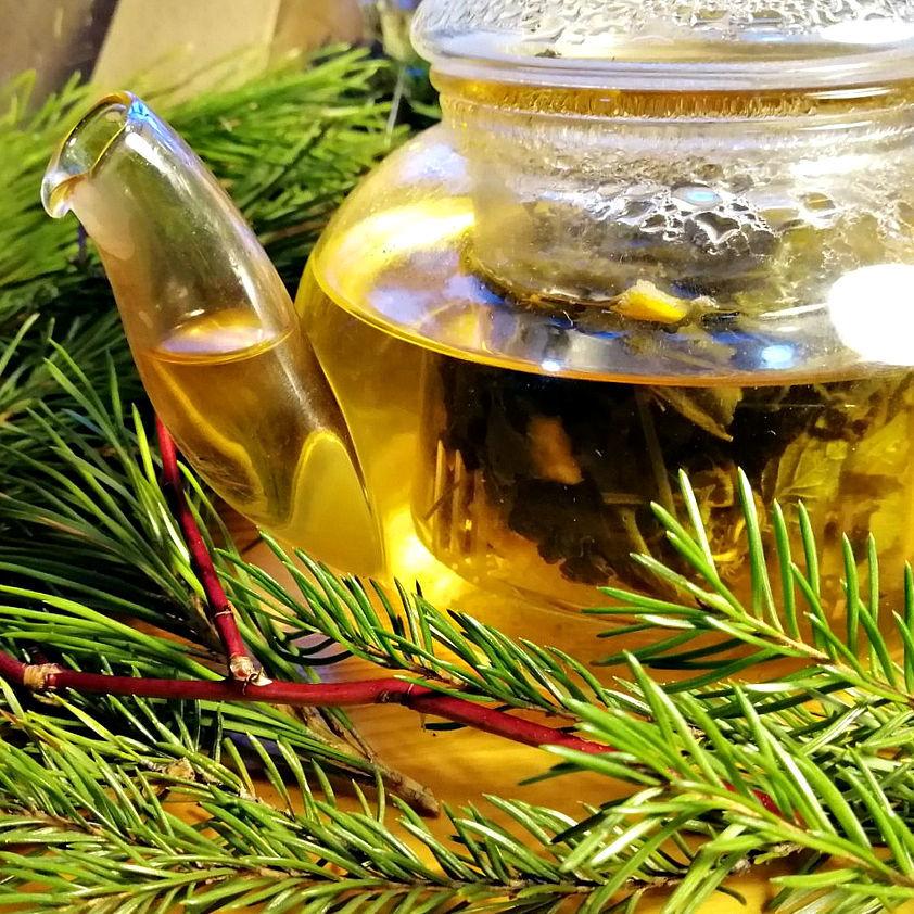 Зелёный чай с мятой и мандариновой цедрой, Наборы чая и кофе, Омск,  Фото №1