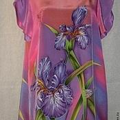 Одежда ручной работы. Ярмарка Мастеров - ручная работа Блуза-Батик``Магия лета``. Handmade.