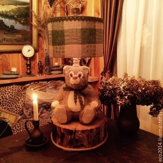 """Освещение ручной работы. Ярмарка Мастеров - ручная работа. Купить Настольная лампа """"Mister Michael"""". Handmade. Лампа, свет"""