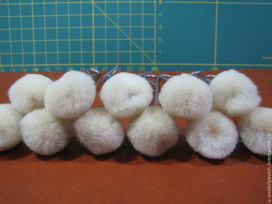 Другие виды рукоделия ручной работы. Ярмарка Мастеров - ручная работа. Купить Шерстяные тампоны 18-20мм для нанесения краски.. Handmade.