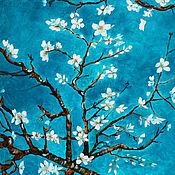 Картины и панно ручной работы. Ярмарка Мастеров - ручная работа Картина Вдохновляясь Ван Гогом. Handmade.