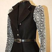 Одежда handmade. Livemaster - original item Warm jacket with puffed sleeves. Handmade.