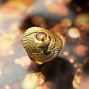 Украшения handmade. Livemaster - original item Silver ring with natural citrine