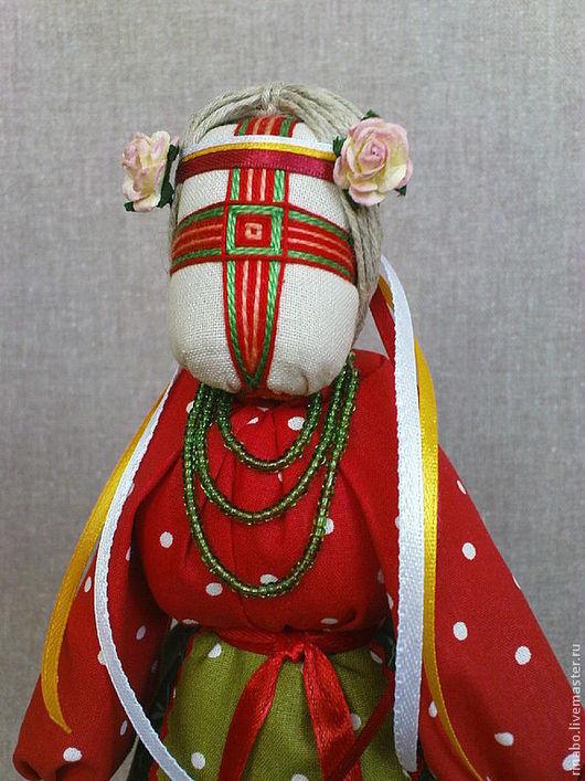 """Народные куклы ручной работы. Ярмарка Мастеров - ручная работа. Купить Кукла-мотанка """"Тюльпан"""". Handmade. Мотанка"""