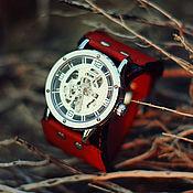 ручной работы. Ярмарка Мастеров - ручная работа Наручные механические часы Irvin, наручные часы мужские. Handmade.