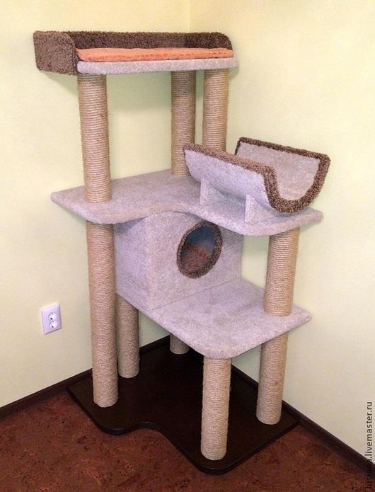 """Аксессуары для кошек, ручной работы. Ярмарка Мастеров - ручная работа. Купить Комплекс для кошек  """"Гармония"""" (подходит крупным кошкам). Handmade."""