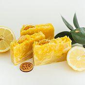 Косметика ручной работы handmade. Livemaster - original item Handmade natural soap Yuzu Japanese lemon yellow. Handmade.