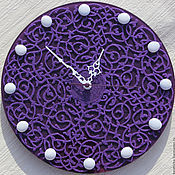 """Для дома и интерьера ручной работы. Ярмарка Мастеров - ручная работа Авторские часы """"Барокко""""( 3 варианта цветового решения). Handmade."""