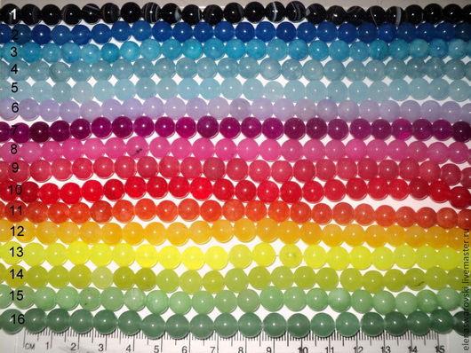 Для украшений ручной работы. Ярмарка Мастеров - ручная работа. Купить Агат 8 мм разноцветный 2.. Handmade. Агат