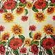 Яркие летние крупные цветы -181 Подсолнухи цветные - салфетка для декупажа Декупажная радость