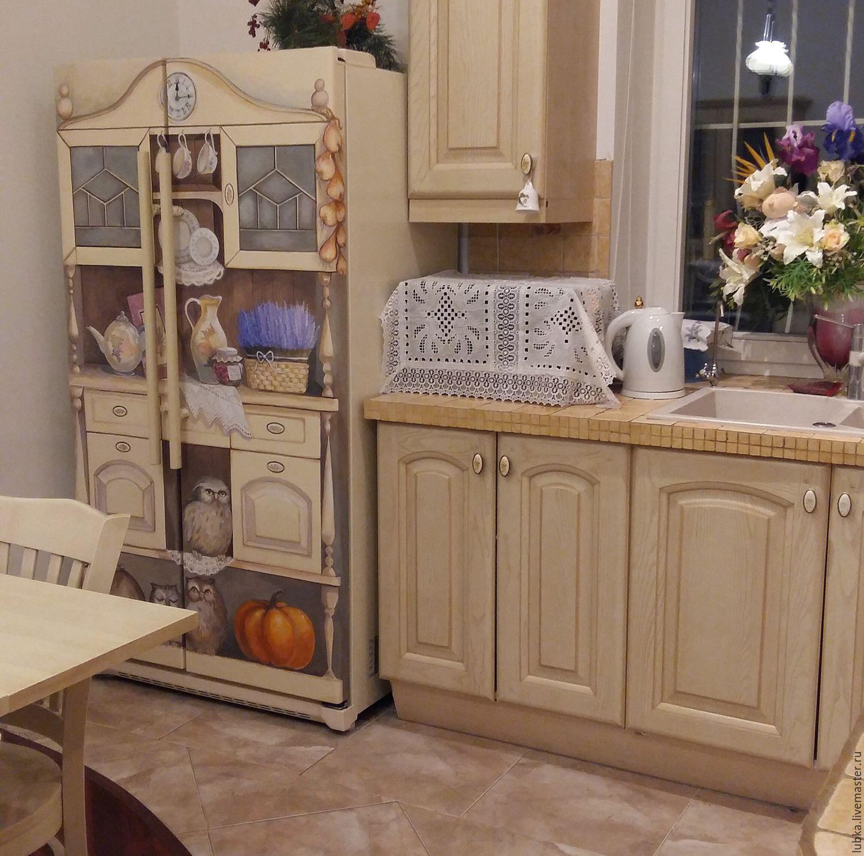Декор холодильника 80 фото-идей и 8 супер-способов переделки
