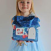 """Кукольные домики ручной работы. Ярмарка Мастеров - ручная работа Кукольные домики: Домик-сумочка """"Русалочка"""". Handmade."""