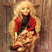 Алиса в Зазеркалье. Авторская кукла