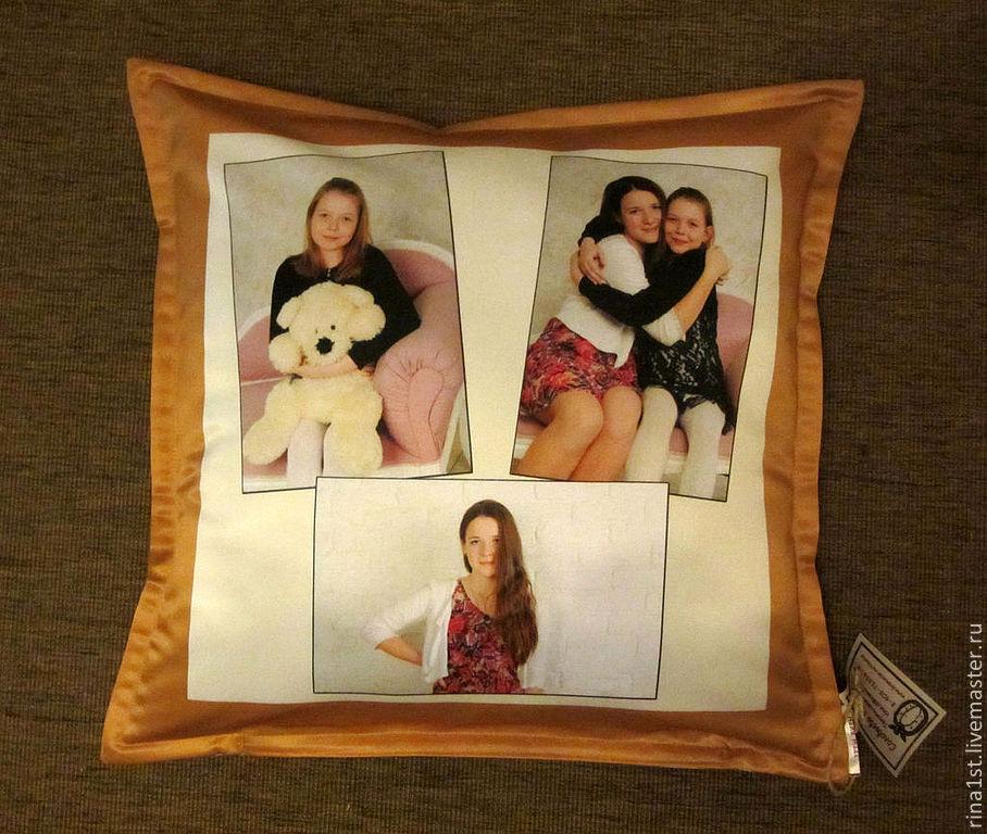 Подушки с фото на заказ во владимире
