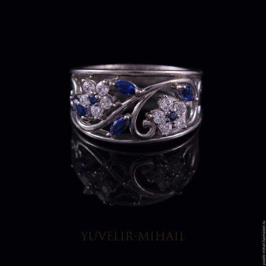 """Кольца ручной работы. Ярмарка Мастеров - ручная работа. Купить Кольцо """"Дарья"""". Handmade. Серебряный, кольцо в подарок, подарок женщине"""