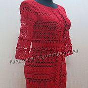 "Одежда handmade. Livemaster - original item ""Kalina"" Summer knitted dress. Handmade."