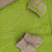 Для дома и интерьера ручной работы. Ярмарка Мастеров - ручная работа Детский плед с кленовыми листьями. Handmade.