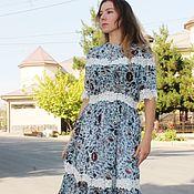 Одежда handmade. Livemaster - original item Dress Sofia with lace. Handmade.