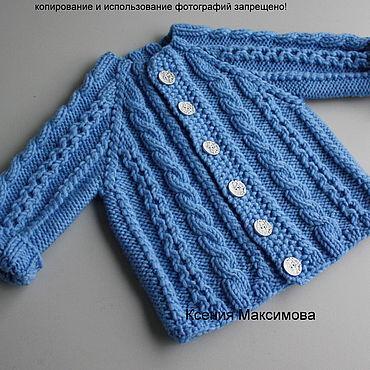Clothing handmade. Livemaster - original item Size 68 Mod jacket for a boy. Handmade.