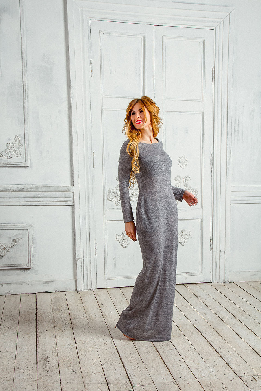 Трикотажное платье купить москва