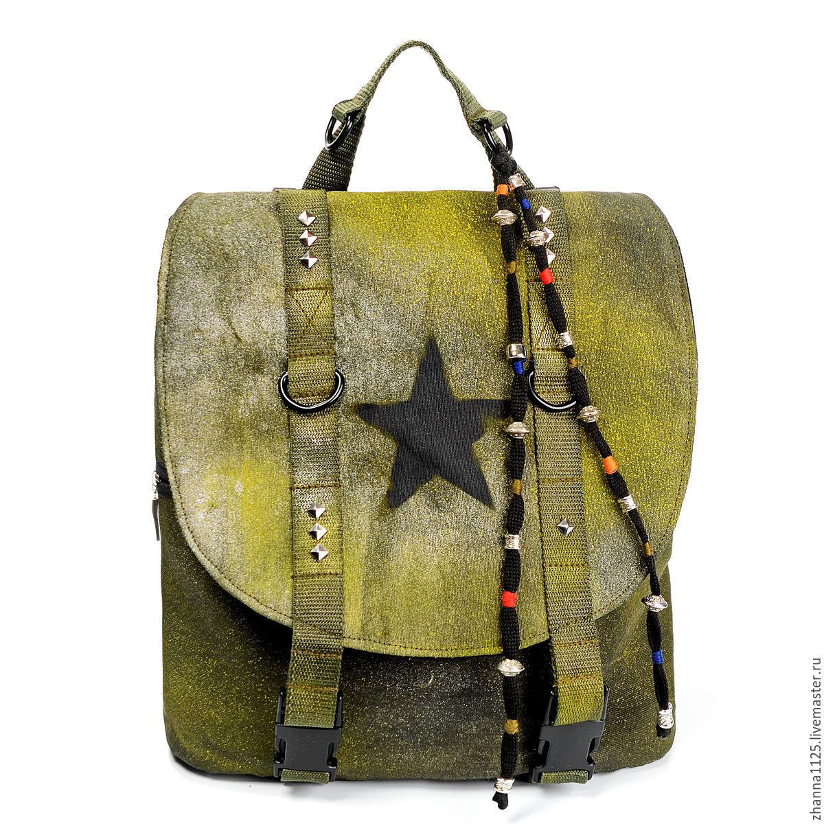 Дизайнерский рюкзак женский рюкзак xl zolo by a.r. design studio