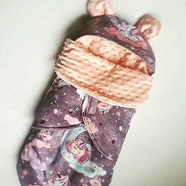 Товары для малышей ручной работы. Ярмарка Мастеров - ручная работа Одежда: Утепленный кокон. Handmade.
