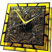 """Для дома и интерьера ручной работы. Ярмарка Мастеров - ручная работа Часы настенные """"Ирокезы"""". Handmade."""