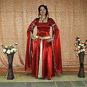 Костюмы для кослпея ручной работы. Ярмарка Мастеров - ручная работа Костюмы для кослпея: Одежда: Платье в средневековом стиле (готическое). Handmade.
