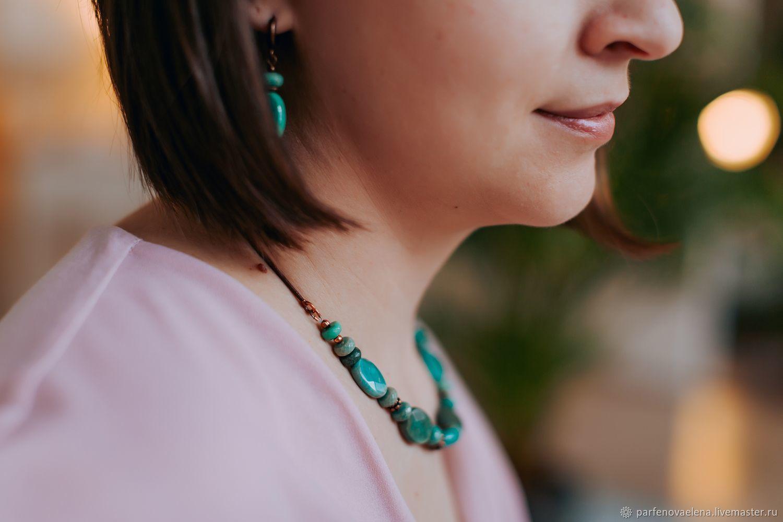 Necklace 'Thessalia', Necklace, Omsk,  Фото №1