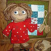 Куклы и игрушки ручной работы. Ярмарка Мастеров - ручная работа Домовенок Кузя, вязаная игрушка. Handmade.