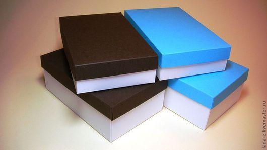 Подарочная упаковка ручной работы. Ярмарка Мастеров - ручная работа. Купить Коробка из дизайнерской бумаги. Handmade. Упаковка, коробка для подарка
