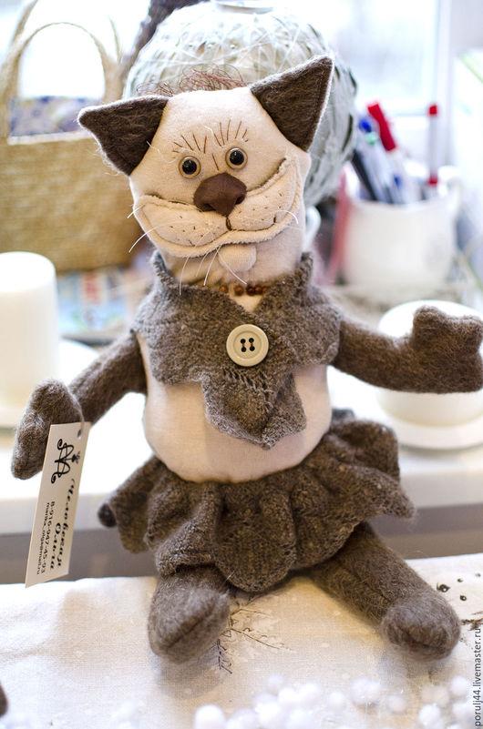Игрушки животные, ручной работы. Ярмарка Мастеров - ручная работа. Купить Мягкие игрушки. Handmade. Игрушка, обезьянка в подарок, бархат