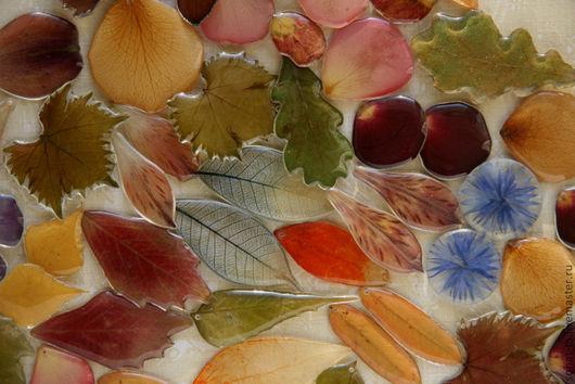 Серьги ручной работы. Ярмарка Мастеров - ручная работа. Купить Серьги из настоящих лепестков и листьев. Handmade. Серьги, подарок женщине