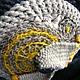 """Броши ручной работы. Броши """"ОНТЭ"""" (брошь вязаная крючком в стиле этно-модерн). MYUq - crochet jeweller&accessories (MYUq). Ярмарка Мастеров."""