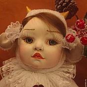 Куклы и пупсы ручной работы. Ярмарка Мастеров - ручная работа Тедди долл  Даша-козленок. Handmade.