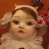 Куклы и игрушки handmade. Livemaster - original item Teddy $ Dora the kid. Handmade.