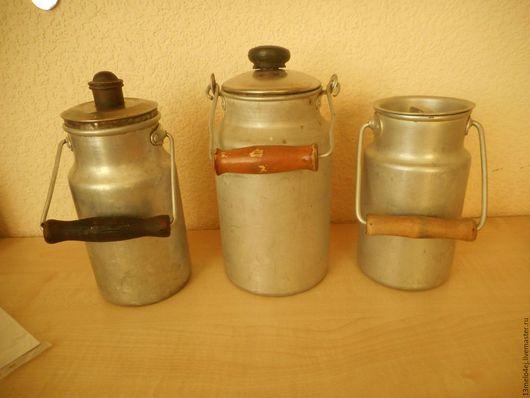 Винтажная посуда. Ярмарка Мастеров - ручная работа. Купить 1 и 2-х литровые бидончики. Handmade. Бидончик, алюминий