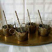 Винтаж ручной работы. Ярмарка Мастеров - ручная работа Винтажные армуды ,стаканы для чая.. Handmade.