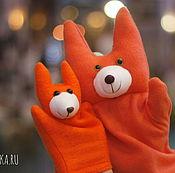 """Куклы и игрушки ручной работы. Ярмарка Мастеров - ручная работа """"Ручные звери""""Перчаточная игрушка для кукольного театра. Handmade."""