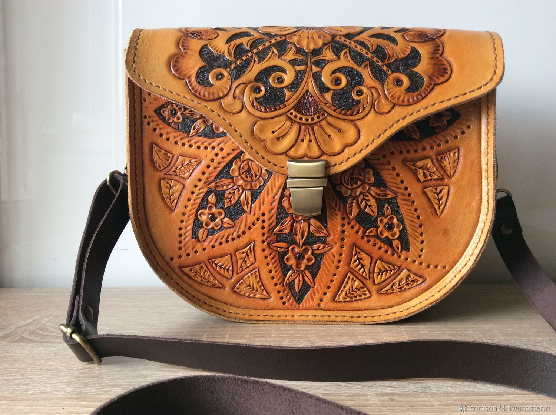 3e316b514c08 Женские сумки ручной работы. Ярмарка Мастеров - ручная работа. Купить Сумка  из кожи
