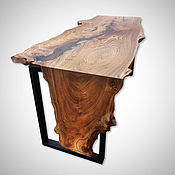 Для дома и интерьера handmade. Livemaster - original item Desk solid slab. Handmade.