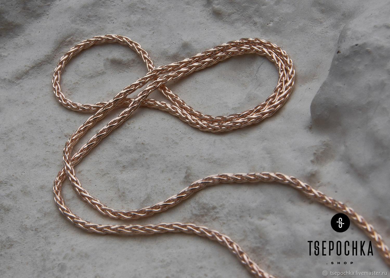 Chain silver GILDING ' ear triple', Chain, Vladimir,  Фото №1