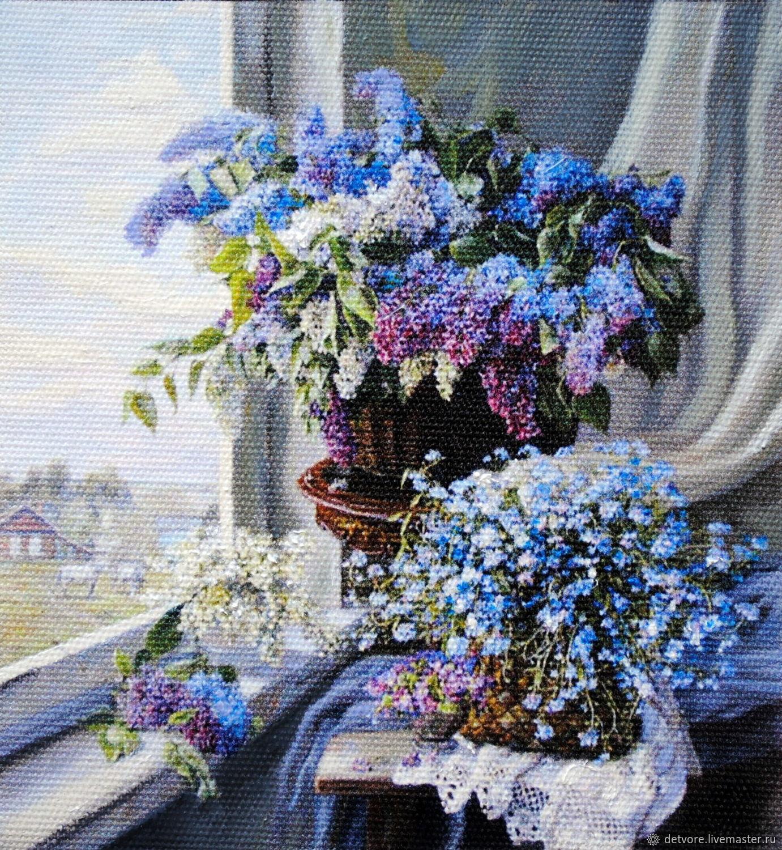 """Картина маслом """"Весенние букеты"""", Картины, Таганрог,  Фото №1"""