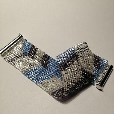 """Украшения ручной работы. Ярмарка Мастеров - ручная работа Браслет """"Кристалл"""". Handmade."""