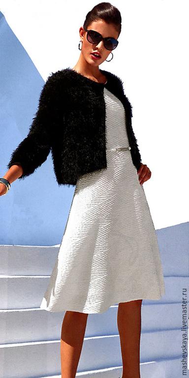 """Кофты и свитера ручной работы. Ярмарка Мастеров - ручная работа. Купить Кардиган """"Парижанка"""". Handmade. Пряжа травка, непринужденный шик"""