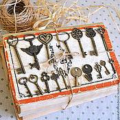 Бусины ручной работы. Ярмарка Мастеров - ручная работа Ключи бронза разные размеры. Handmade.
